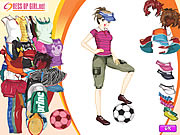Click to Play Sporty Girl Dressup