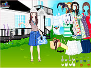 Click to Play Summer Garden Dress Up