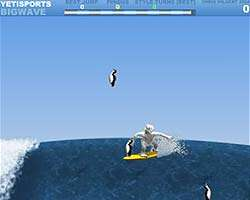 Click to Play Yeti Sports 6 - Big Wave