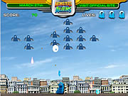 Click to Play Monsters vs. Alien - Gallaxhar Invades