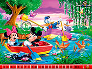 Click to Play Hidden Numbers - Mickey Mouse