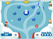 Click to Play Snow Ball Pinball 2