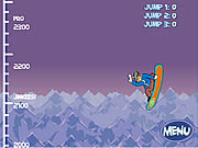 Click to Play Scooby Doo: Big Air Snow Show