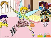 Click to Play Tinkerbell Dress up 1