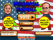 Click to Play Presidential Paintball