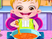 Click to Play Baby Hazel Kitchen Time