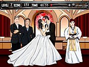 Click to Play Chelsea Clinton Wedding Kiss