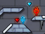 Click to Play FireBoy and WaterGirl 3: The Ice Temple
