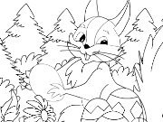 Click to Play Kid's coloring: Easter coloring