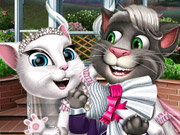 Click to Play Kitty Wedding Day