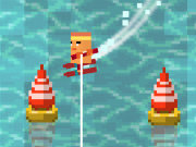 Click to Play Loch Ness Water Skiing