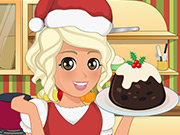 Click to Play Mia Cooking Christmas Pudding