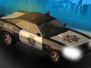 Click to Play Police Car City Driving Sim