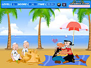 Click to Play Popeye Kiss