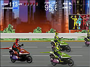 Click to Play Power Rangers - Moto Race