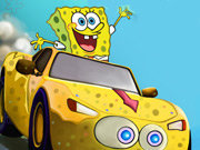 Click to Play Spongebob Speed Car Racing
