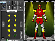 Click to Play Super Hero Creator